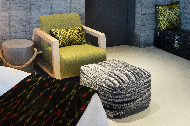 綠境床尾巾與抱枕